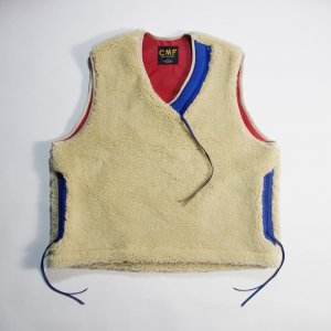 CMF OUTDOOR GARMENT 「SOLID VEST - フリースベスト」