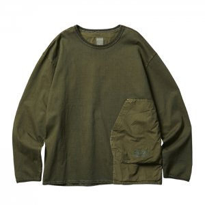 Liberaiders 「OVERDYED SHOOTING L/S TEE - ロングスリーブTシャツ」