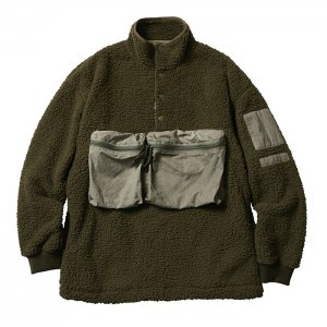 <img class='new_mark_img1' src='https://img.shop-pro.jp/img/new/icons8.gif' style='border:none;display:inline;margin:0px;padding:0px;width:auto;' />Liberaiders 「LIBERAIDERS PILE FLEECE PULLOVER - プルオーバーフリース」