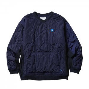Liberaiders 「LIBERAIDERS LR QUILTED PULLOVER - プルオーバーキルティング」