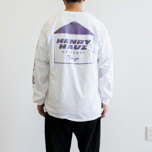 HENRY HAUZ 「HH LOGO LS - ロングスリーブTシャツ」