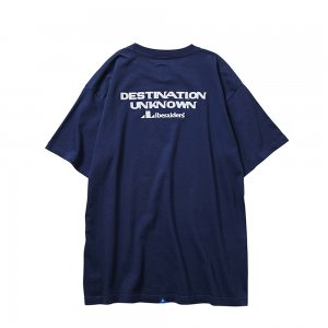 LIBERAIDERS 「DESTINATION TEE- クルーネックTシャツ」