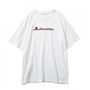 LIBERAIDERS 「TRIANGLE LOGO TEE- クルーネックTシャツ」