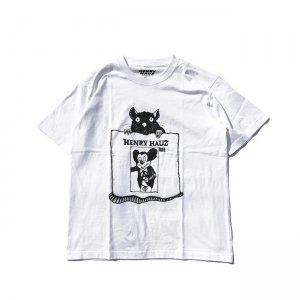 HENRY HAUZ 「RYUJI KAMIYAMA×HH CT - クルーネックTシャツ」