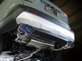 [マフラー] トヨタ RAV4 スラッシュカットREGAL4テールマフラー