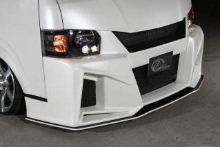 [ハイエース] ワイド 200W-GT フロントディフューザー