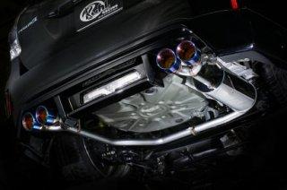 KUHL ver2 40R-GT 40PRIUSα スラッシュ4テールマフラー(100φ)