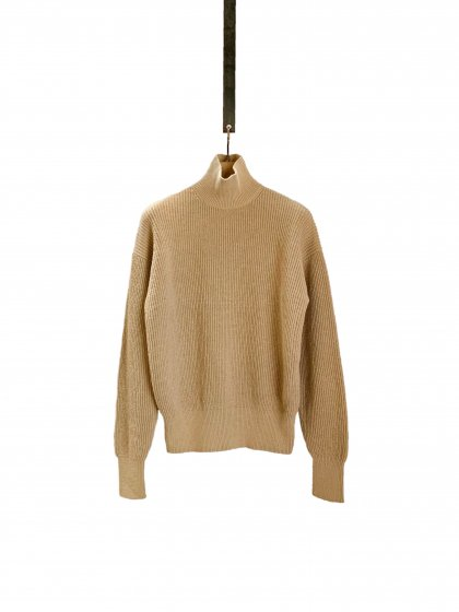Long Sleeves Knit Turtleneck Pullover