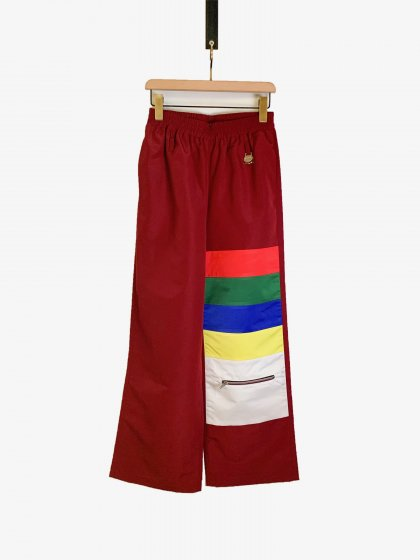 <img class='new_mark_img1' src='https://img.shop-pro.jp/img/new/icons19.gif' style='border:none;display:inline;margin:0px;padding:0px;width:auto;' />Color Blocking Trousers