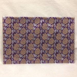 防炎マット 紫菊