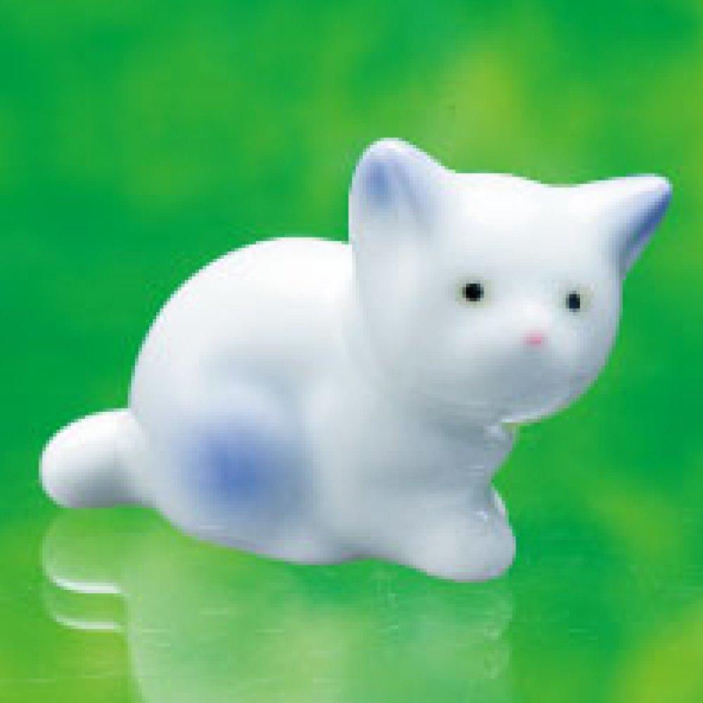 【有田焼】ミニ分骨入れ ネコちゃん 1