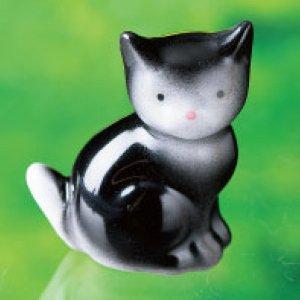 【有田焼】ミニ分骨入れ ネコちゃん 3