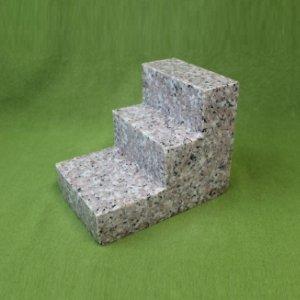 国産・ピンク御影石「三段墓」(130199342)