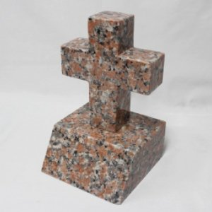 ブラウン御影石・洋碑(十字架)