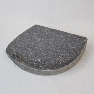 国産・ブラック御影石「自然石プレート」(143335102)