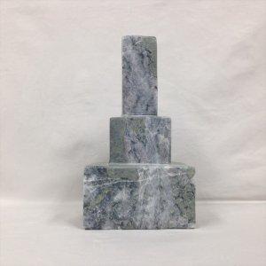 国産・ベージュ御影石「縦置き三段墓」(149980461)