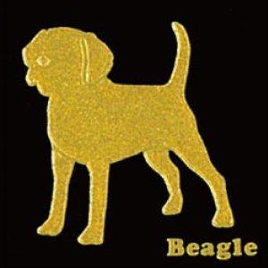 I LOVE DOG ビーグル(ゴールド)