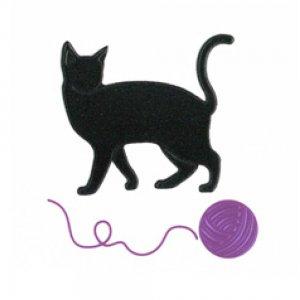 I LOVE CAT 猫と毛糸玉(ブラック)