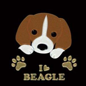 I LOVE DOG2 ビーグル