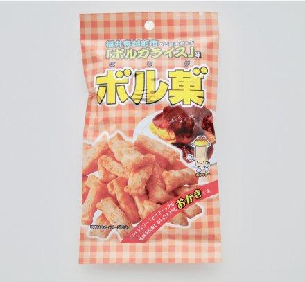 ボルガライス味あられ ボル菓(ボルガ) 40g × 5袋セット