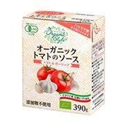 オーガニックトマトのソーストマト&ガーリック390g×12本