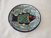 メキシコ タラベラ焼 【平皿小 さかなYL】
