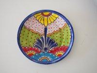 メキシコ タラベラ焼 【平皿大�】