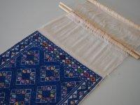 メキシコ 織り壁掛け【サンアンドレスララインサール ブルー】