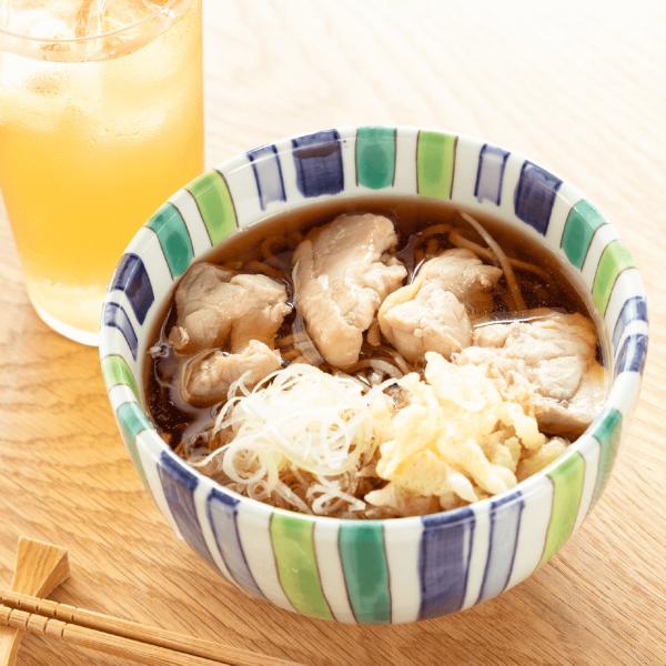 【夏季限定】 冷たい鶏そば (山形さくらんぼ鶏使用) 3人前の通販用サムネイル