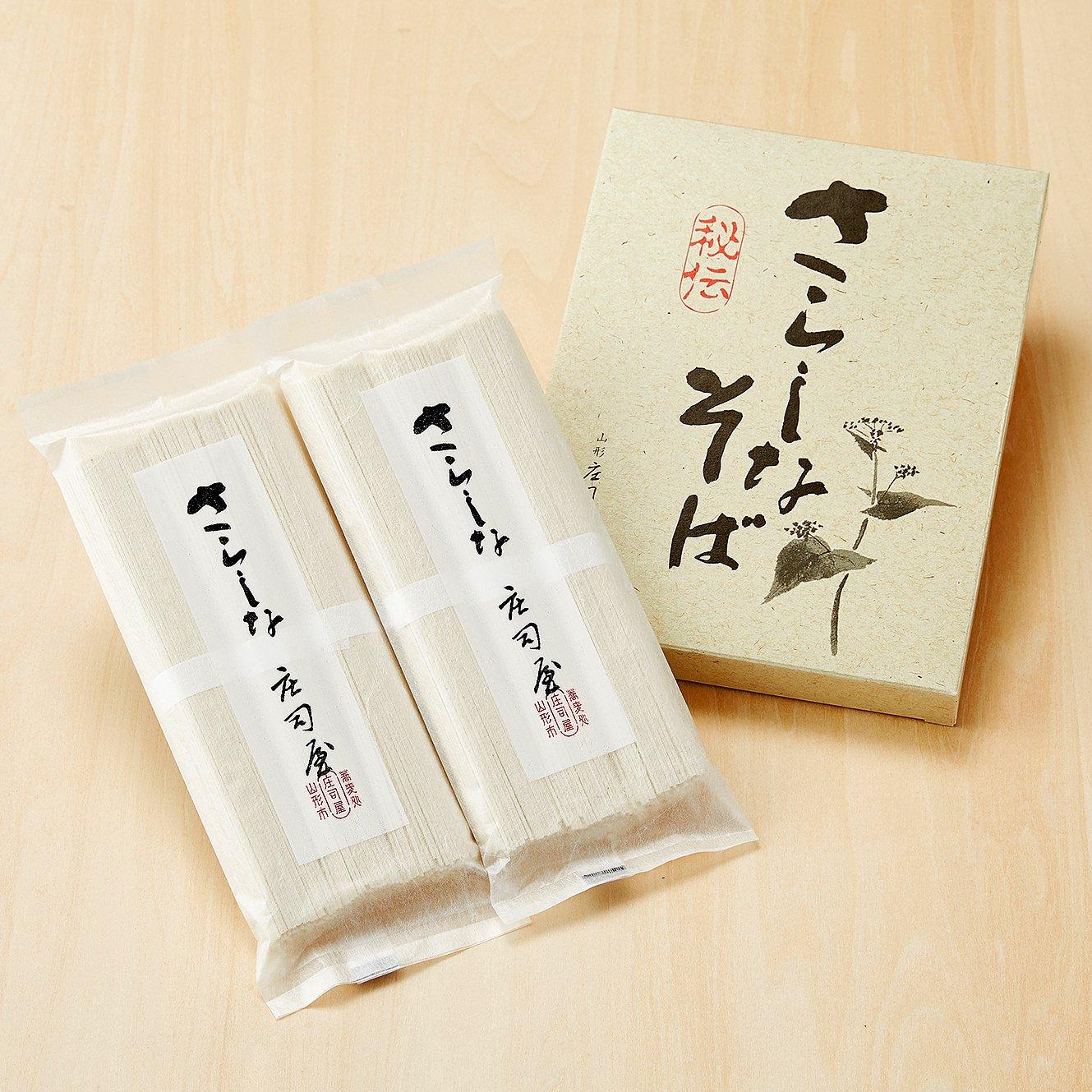 さらしな乾麺(2袋) の商品写真