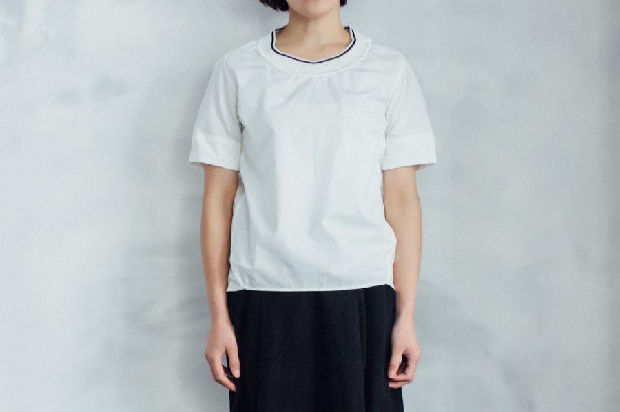endow ニットカラーTシャツ