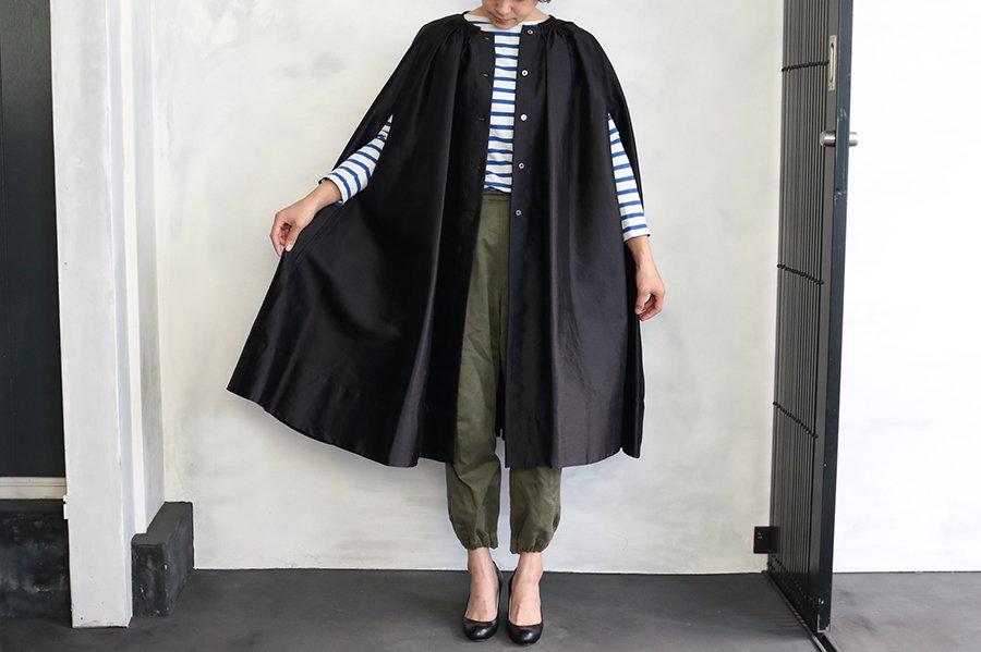 TOWAVASE 「ジョワイヨ.ノエル」コート  BLACK