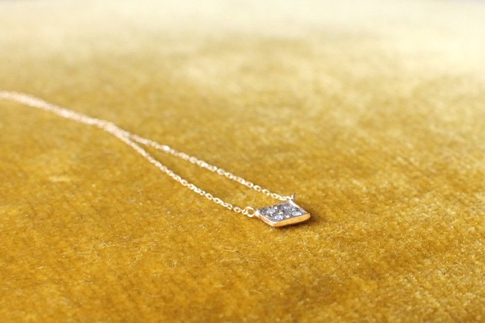Atelier el Effulgent  ダイヤモンドネックレス
