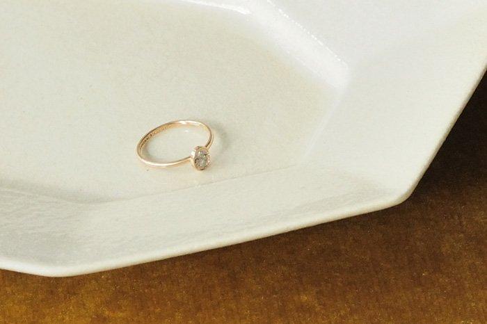Atelier el Effulgent  オーバルダイヤモンドリング