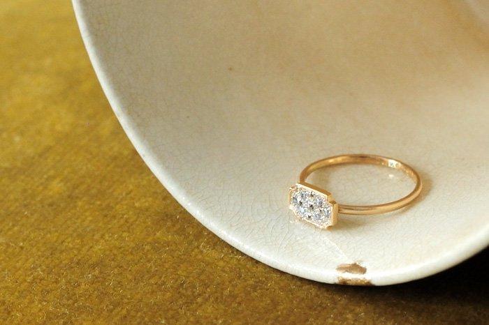 Atelier el Effulgent  ダイヤモンドリング