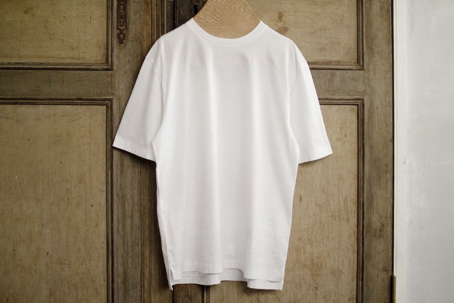 semoh クルーネックTシャツ WHITE