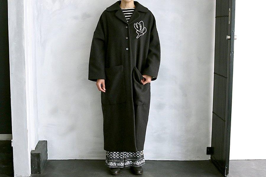 TOWAVASE 「Tsubomi」コート GRAY