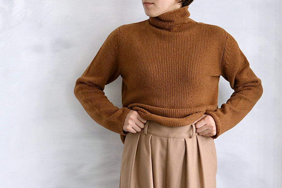 humoresque  タートルネック BROWN