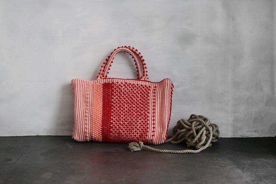 Antonello teddeトートバッグ RED