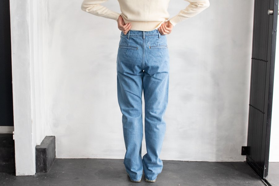 semoh DENIM PANTS LIGHTBLUE