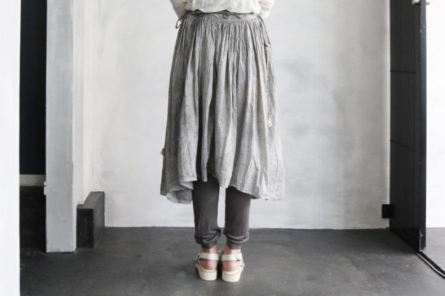 Tabrik 巻きスカート 濃墨染