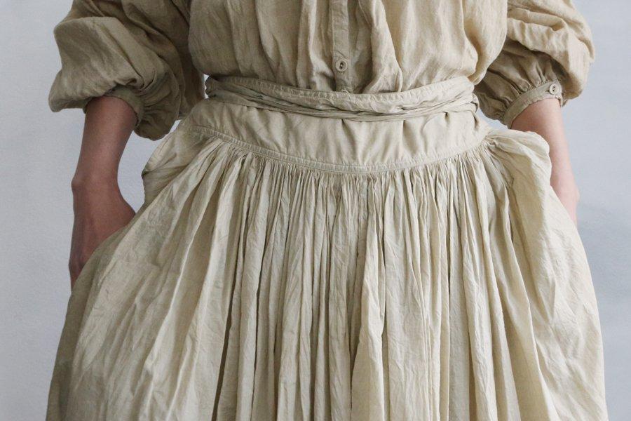 Tabrik 巻きスカート ペーパーカラー