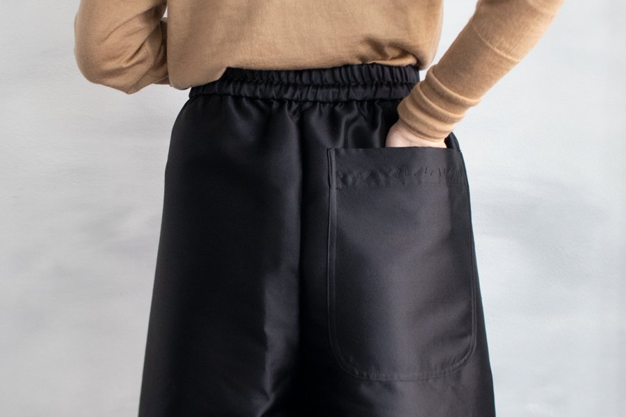 TOWAVASE 「Joyeux noel」パンツ BLACK