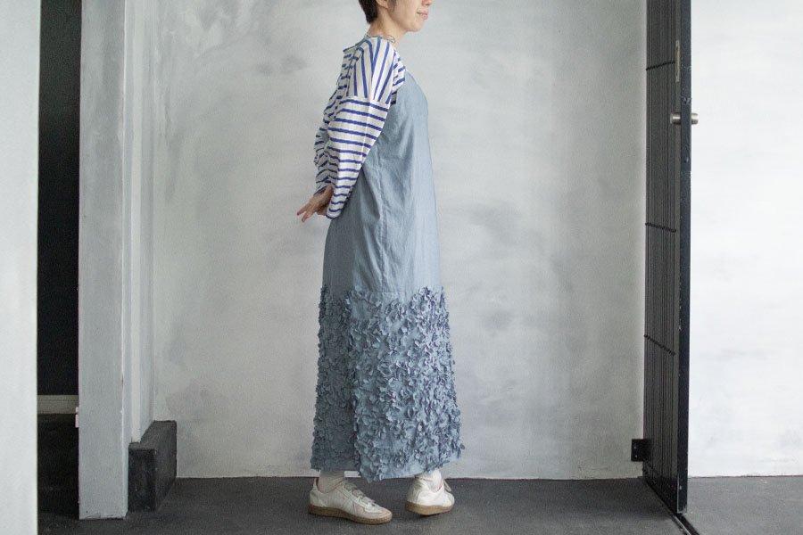 TOWAVASE  「Anne」キャミソールドレス BLUE