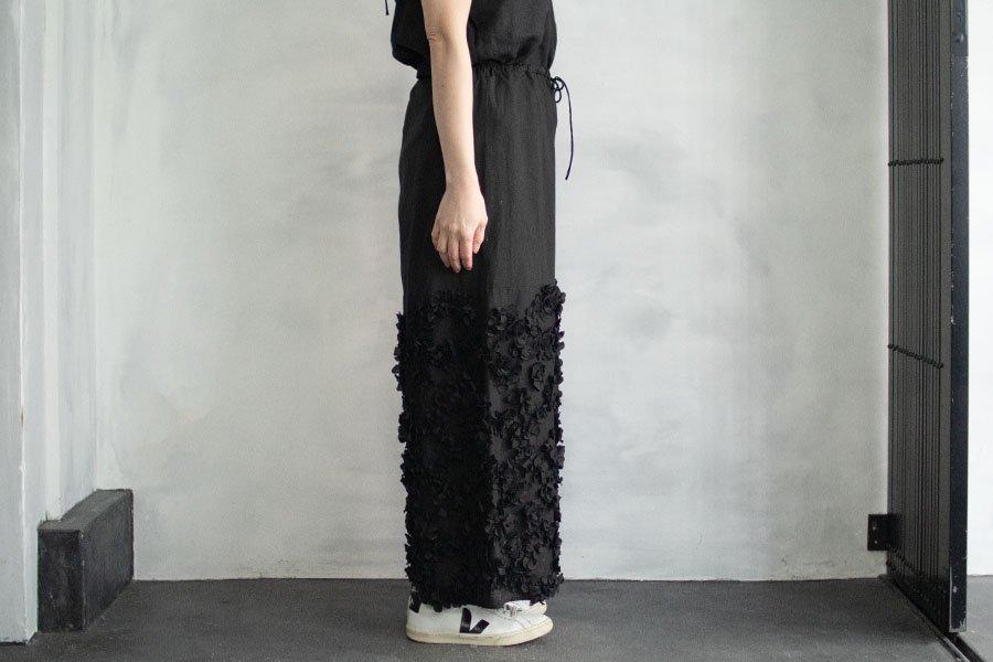TOWAVASE  「Anne」パンツ BLACK