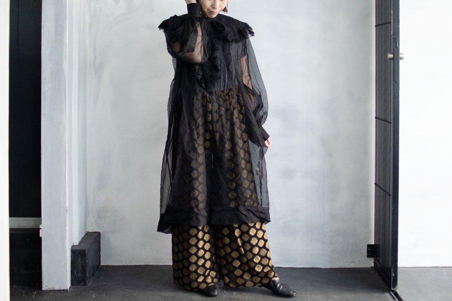 TOWAVASE 「Clarisse」ドレス BLACK