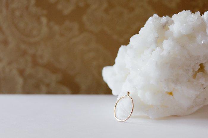 Twinkle 一粒ダイヤモンドリング
