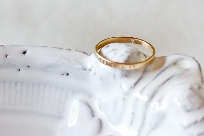 Twinkle ゴールドダイヤモンドリング