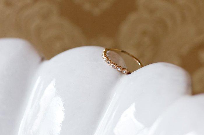 Twinkle 8粒ダイヤモンドリング