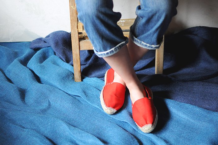 Espadrille Pyreneenne ROUGE